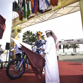 a Qatar Sealine Rally 2012 Start