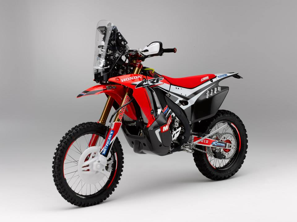 Dakar 2014 Honda HRC 450cc Rally bike