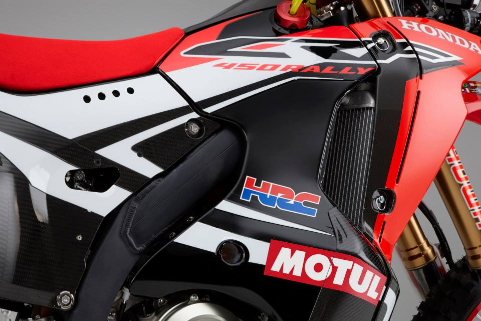 Honda CRF 450cc Rally