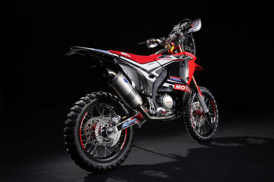 Honda Dakar 2014 bike