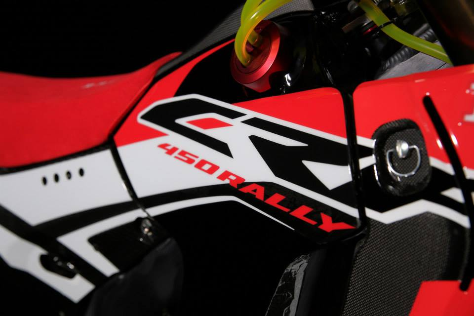 Honda Rally Bike 2014
