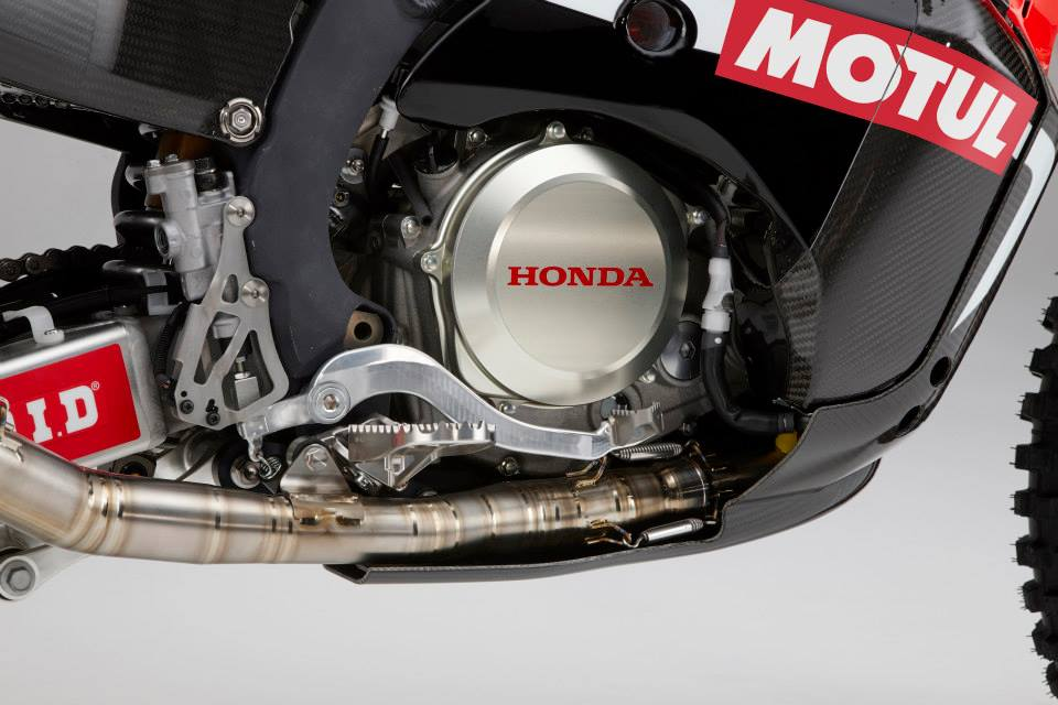 Honda Rally Bike